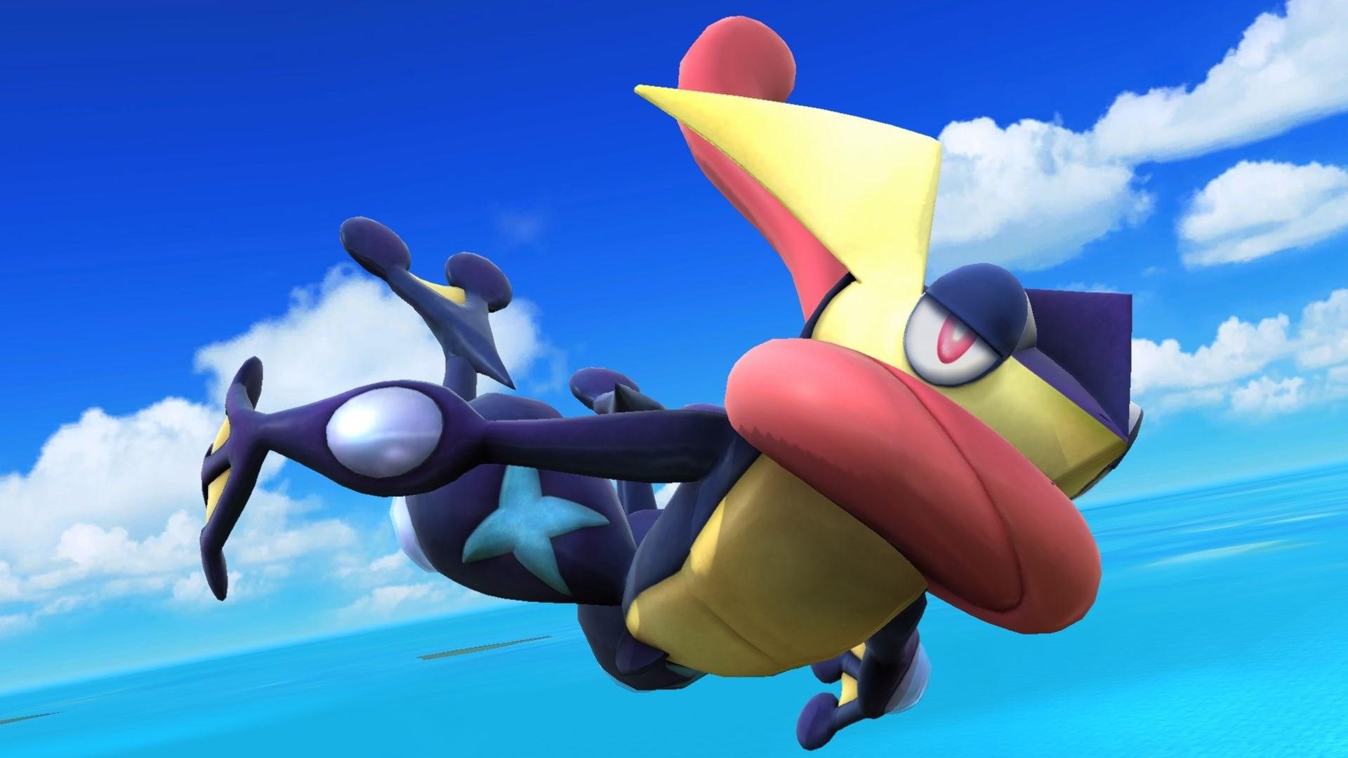 Super Smash Bros      Character Screenshots  GreninjaGreninja Super Smash Bros